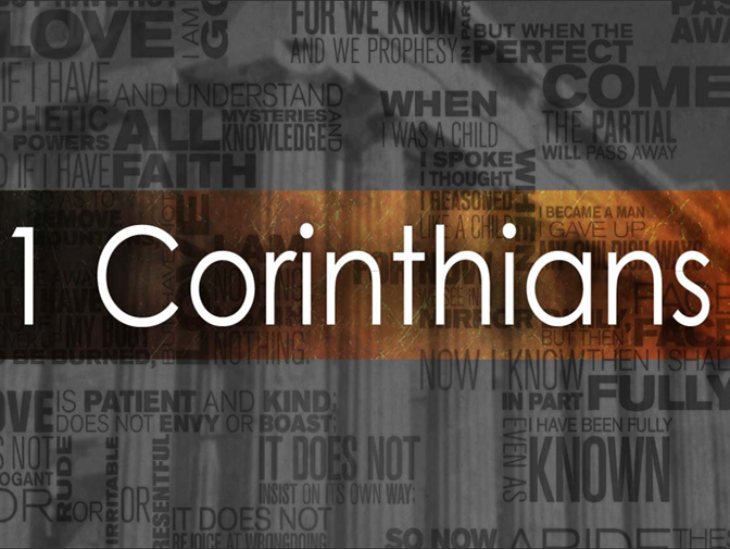1 Corinthians – messy church