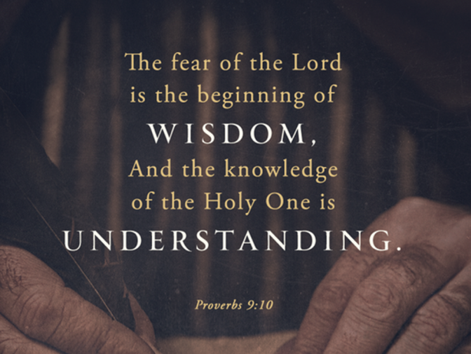 Proverbs – the way of wisdom
